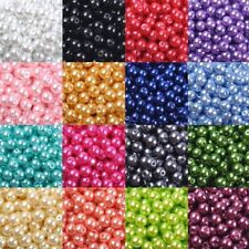 4mm/6mm/8mm/10mm Wholesale Glass Pearl Round Spacer Loose Beads DIY