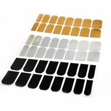Stickers Sticker Foil Decal Golden 16 Pcs Wraps Smooth Nail Silver Art Patch