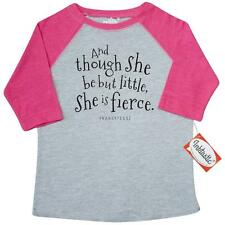 Inktastic Though She Be But Little Shakespeare Quote Toddler T-Shirt William Is