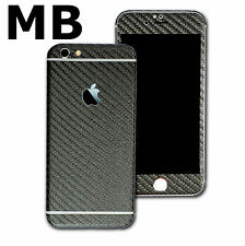 Textured Carbon Fiber Skin Wrap Vinyl Sticker Case Decal Cover for ALL iPhone