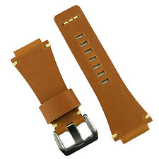 B & R Bands Oak Classic Vintage Leather Bell & Ross Watch Band Strap BR01 BR03