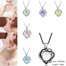 Special Charming Design Korean Women Lady Grape Stone Style Necklace Jewelry EW