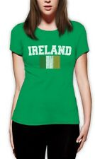 IRELAND Tricolor Flag Irish Pride St. Patrick's Day Women T-Shirt Gift Idea