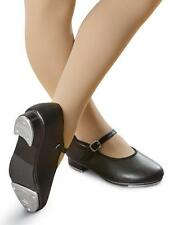 Dance Shoes Tap Mary Jane Black Student Youth Adult Velcro Buckle Capezio ABT