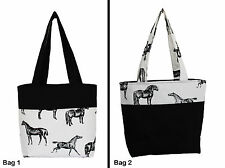 HORSE HAND BAG SMALL TOTE HAND MADE IN AUSTRALIA BRAND NEW TWO DESIGNS