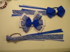 Hair Bow with Matching Streamers