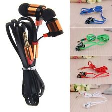 CellPhone MP3 MP4 IPod PC Multicolor Bass Headphone Earphone In-Ear 3.5mm