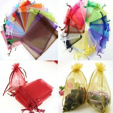 Wedding Favor 50pcs Jewellery Gift Bags Candy Bags Organza Packing Pouches