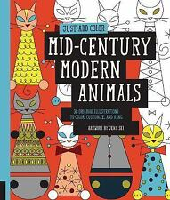 Just Add Color: Just Add Color: Mid-Century Modern Animals : 30 Original Illustr