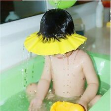 Baby Kids Shampoo New Bathing Wash Hair Shield Shower Cap Hat