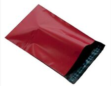 "Heavy Duty Red 14 x 20"" 350 x 500mm Mailing Postage Postal Mail Bags Choose Qty"