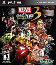 Marvel vs. Capcom 3: Fate of Two Worlds Sony PlayStation 3 PS3 COMPLETE
