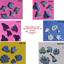ASSORTED FLOWERS - HANDMADE, CERAMIC MOSAIC TILES ( Pick you Group ) # 22