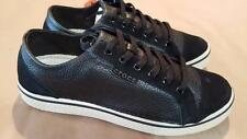 Crocs Hover Lace Up Men Leather Sneaker Shoes Black Stucco Men's  NWT Free ship