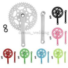 high-carbon Steel Single Speed 44T Teeth Fixie Track Bike Bicycle Crankset Crank