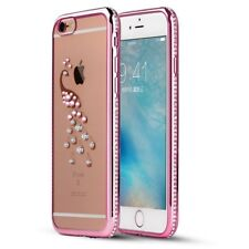 Bling Rhinestone Silicone Case For iPhone 6 6S Coque Luxury Soft TPU Back Cover