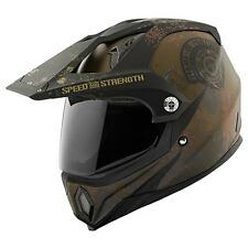 Speed & Strength SS2500 Fame and Fortune Dual Sport Motorcycle Helmet CLOSEOUT