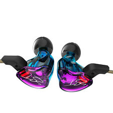 Colour Balanced Armature+Dynamic Hybrid Dual Driver Earphones HIFI Earbuds Bass