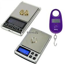 EA77 LCD 2000g/0.1g Digital Weigh Jewelry Scale 25kg/5g Electronic Digital Scale