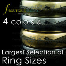 PREMIUM Qlty Tungsten Carbide Lord of Rings LOTR One Ring gold silver black rose