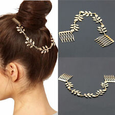 Stylish Women Metal Rose Flower Headband  Head Chain Hair Band Fashion Jewelry