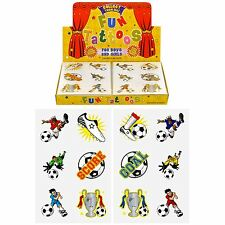 36 Childrens Pirate Footy Fairy Temporary Tattoos Party Bag Filler Kids Boy Girl