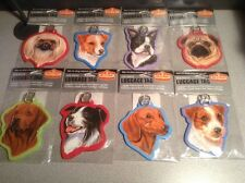NEW Westport Breed Specific Luggage Tags VARIOUS DOG BREEDS Choose yours