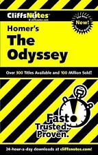The Odyssey by Homer, Cliffs Notes (2000, Paperback)