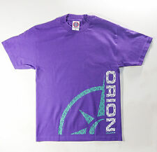 ORION TRUCKS t-shirt PURPLE/ GREEN - MEDIUM skateboard T-SHIRT - 100% COTTON