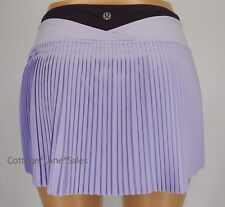 NEW LULULEMON Time To Shine Skirt 4 6 8 10 Lilac Deep Zinfandel Run Golf Tennis