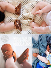 0-18M Baby Tassel Soft Sole Leather Shoes Infant Boy Girl Toddler Moccasin