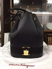 Brand New & Never Used Authentic Salvatore Ferragamo Drawstring Backpack