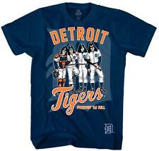Kiss / Detroit Tigers  Dressed to Kill  T-Shirt   Free Shipping  Official