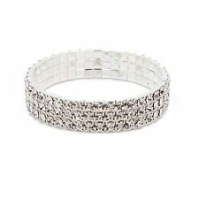 Party Fashion Bright Rhinestone Bridal New Anklet Crystal Stretch Bracelet