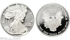 1/2 ounce .999 Fine American Silver Eagle Walking Liberty Bullion Round Coin .5