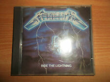METALLICA-RIDE THE LIGHTNING OOP 1989 ISRAELI PRESS ACUM HELICON RARE!!!