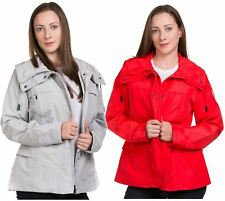 New Ladies casual Jacket Plain Lining Lightweight Quality outwear Coat 8-16