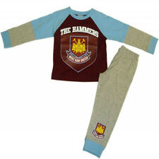 Boys Official West Ham United Hammers Fans Football Club Pyjamas 4 to 12 Years