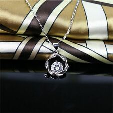Jewelry Sweet Lady Necklace Pendant&Necklace Exquisite Chain Silver Choker