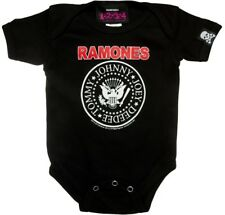 Sourpuss Licensed Ramones Logo Baby Onesie Punk Rock Alternative Romper Band Tee