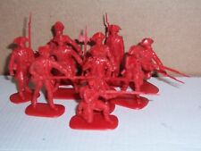 Lot of Accurate Rev War  British soldiers playset figures