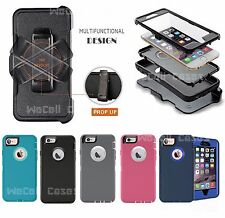 New Defender Case For IPhone 7 & 7 Plus w/Belt Clip & Screen Protector