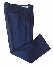 Red Kap Men's Work Pants Pleated Navy Hook and Eye Closure Twill Slack PT38NV