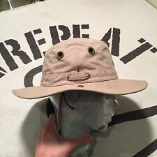 TILLEY T3 SNAP-UP HAT sz 7 1/2 GREAT CONDITION! Guaranteed for LIFE!