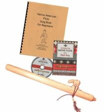 Authentic Native American Flute Beginners Kit Key D You choose the Animal