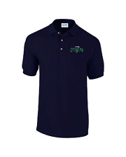 Austin Healey Classic Car Embroidered Logo Polo Shirt Personalised Free P&P