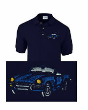 Triumph Spitfire Classic Car Embroidered Polo Shirt Personalised Free P&P