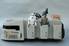 VINTAGE STAR WARS COMPLETE IMPERIAL CRUISER + ACTION FIGURES KENNER transporter