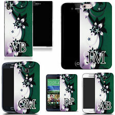 PERSONALISED INITIALS SILICONE CASE FOR MANY MOBILES - xenolith  GEL