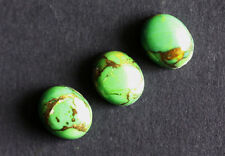 Green Copper Turquoise 20x15MM Oval Shape, Calibrated Cabochons AG-213
